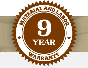 9 Year Warranty