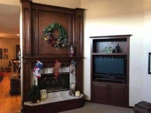 Woodwork in the home