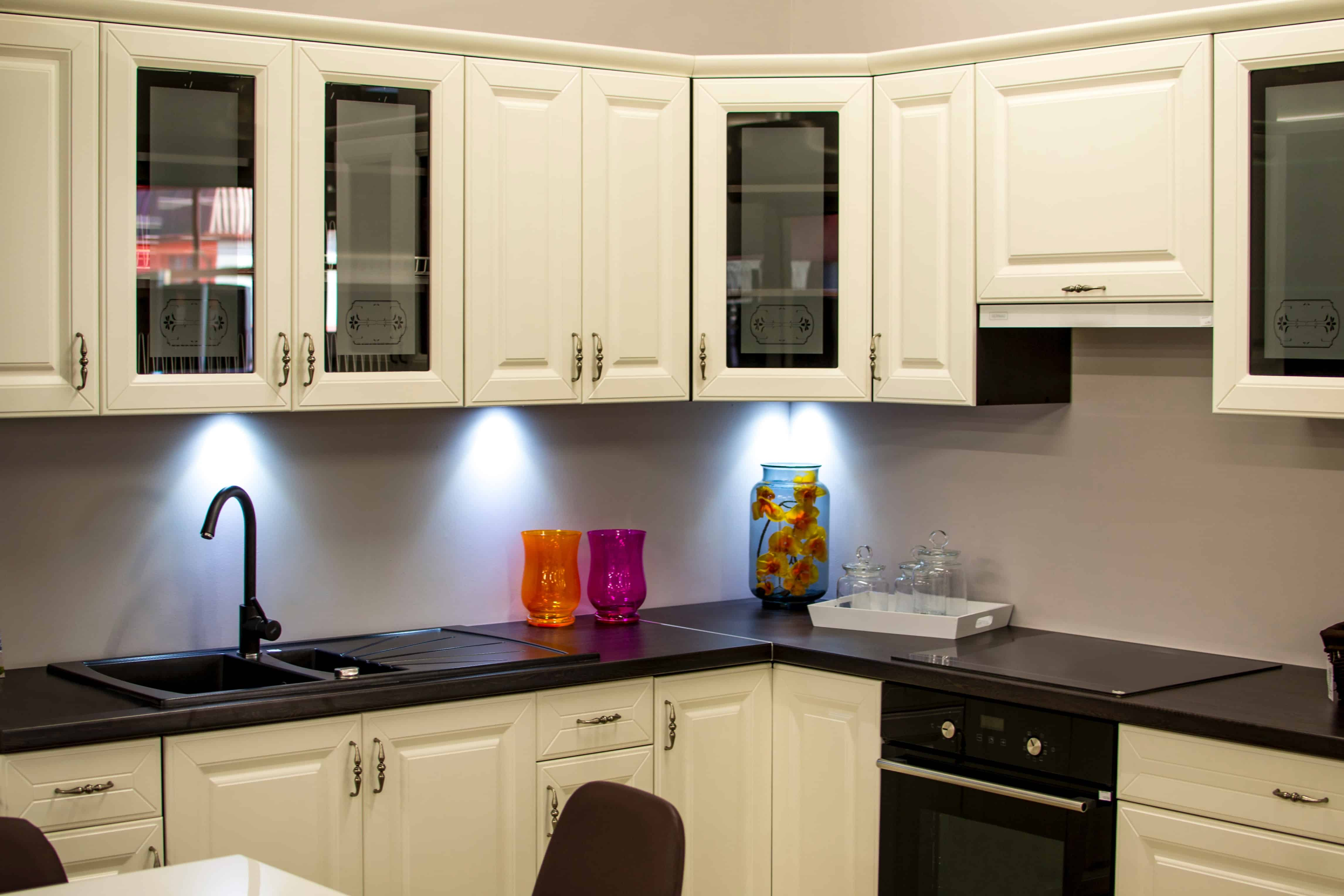 How To Refinish Your Kitchen Cabinets In Paint Step By