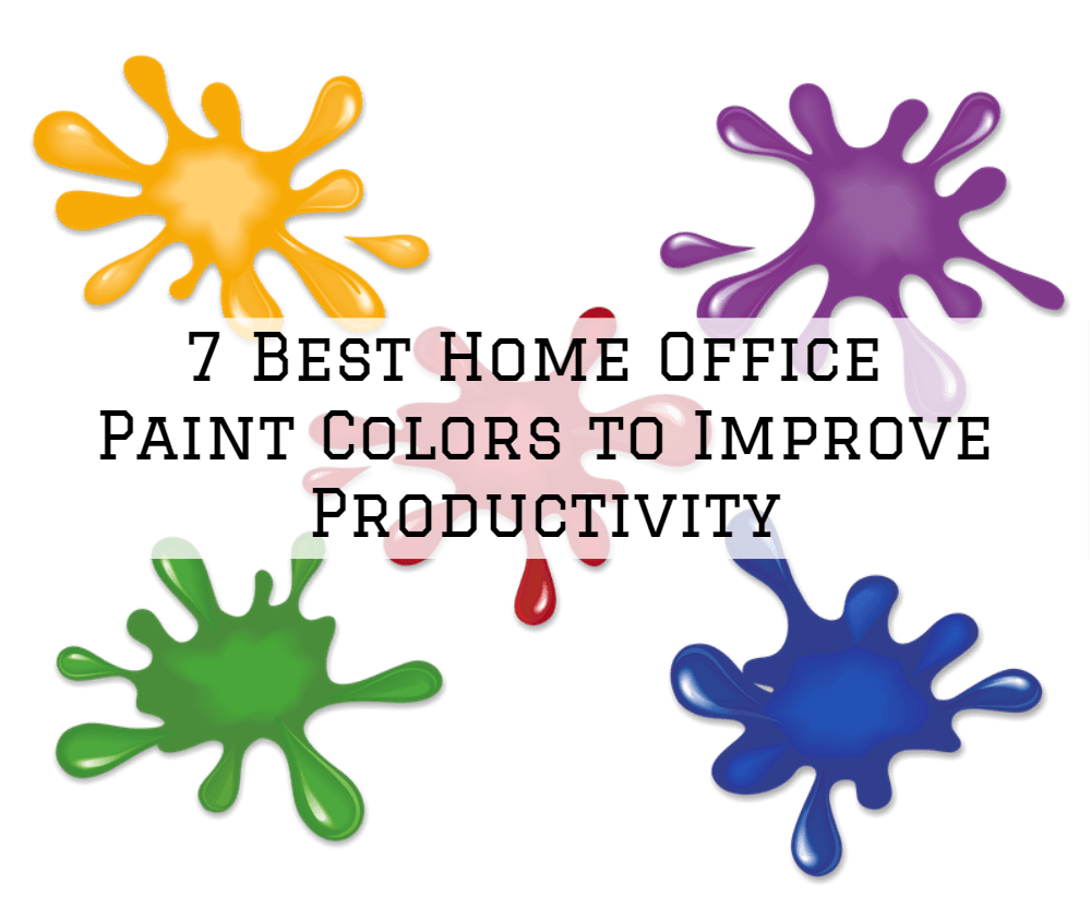 Brush And Roll Painting 7 Best Home Office Paint Colors To Improve