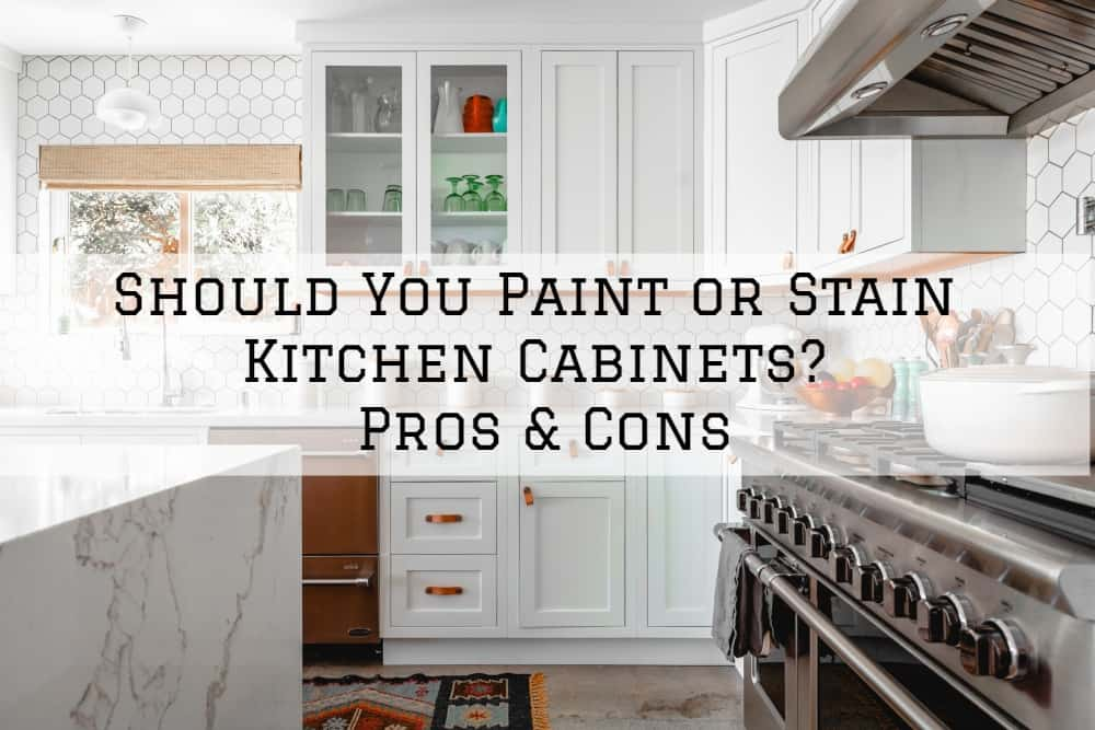 Brush Roll Painting Should You Paint Or Stain Kitchen Cabinets Pros Cons Brush Roll Painting