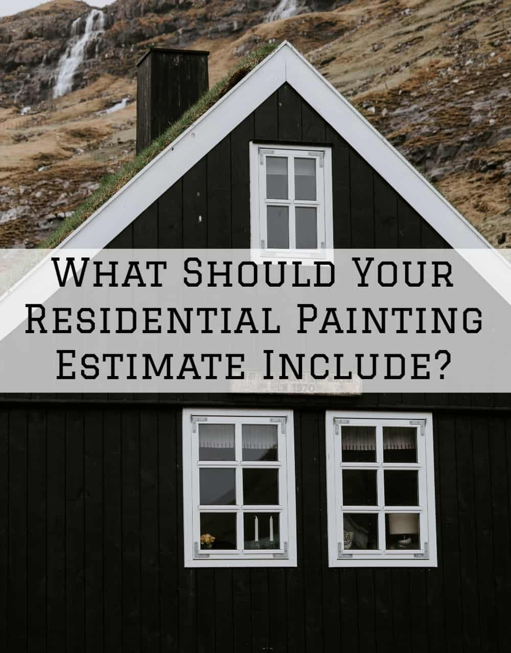 painting estimate