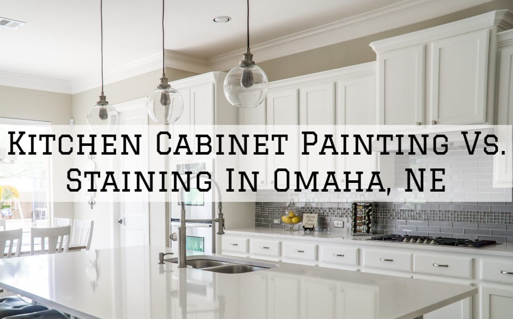 Brush Roll Painting Kitchen Cabinet Painting Vs Staining In Omaha Ne Brush Roll Painting