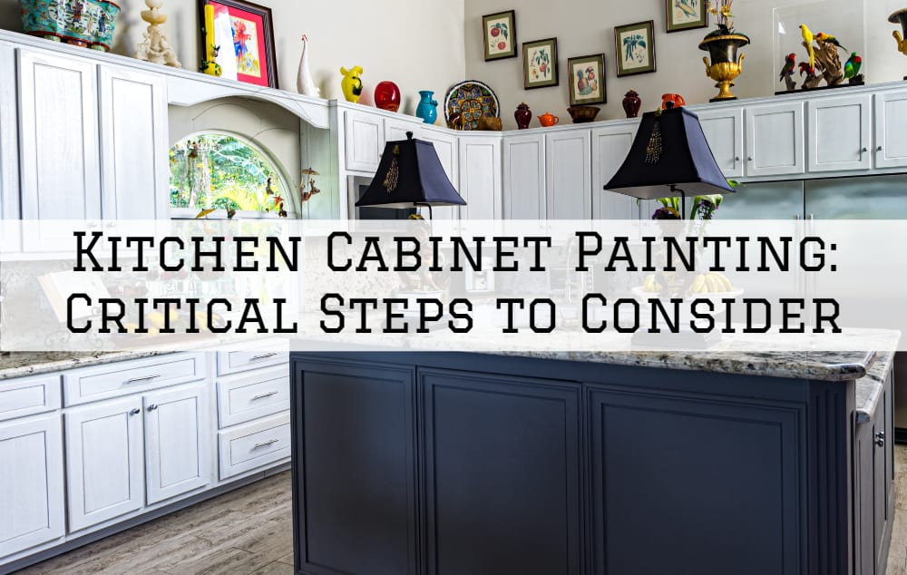 Brush and Roll Painting | Kitchen Cabinet Painting, Omaha ...