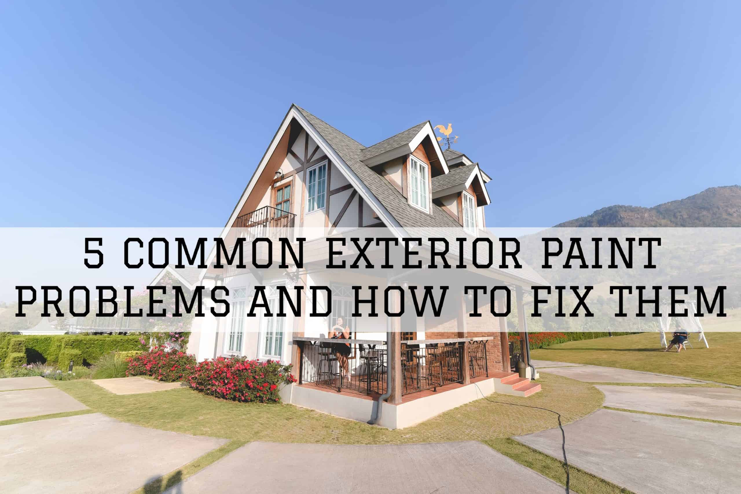 2020-01-17 Brush and Roll Painting Omaha NE Exterior Paint Problems