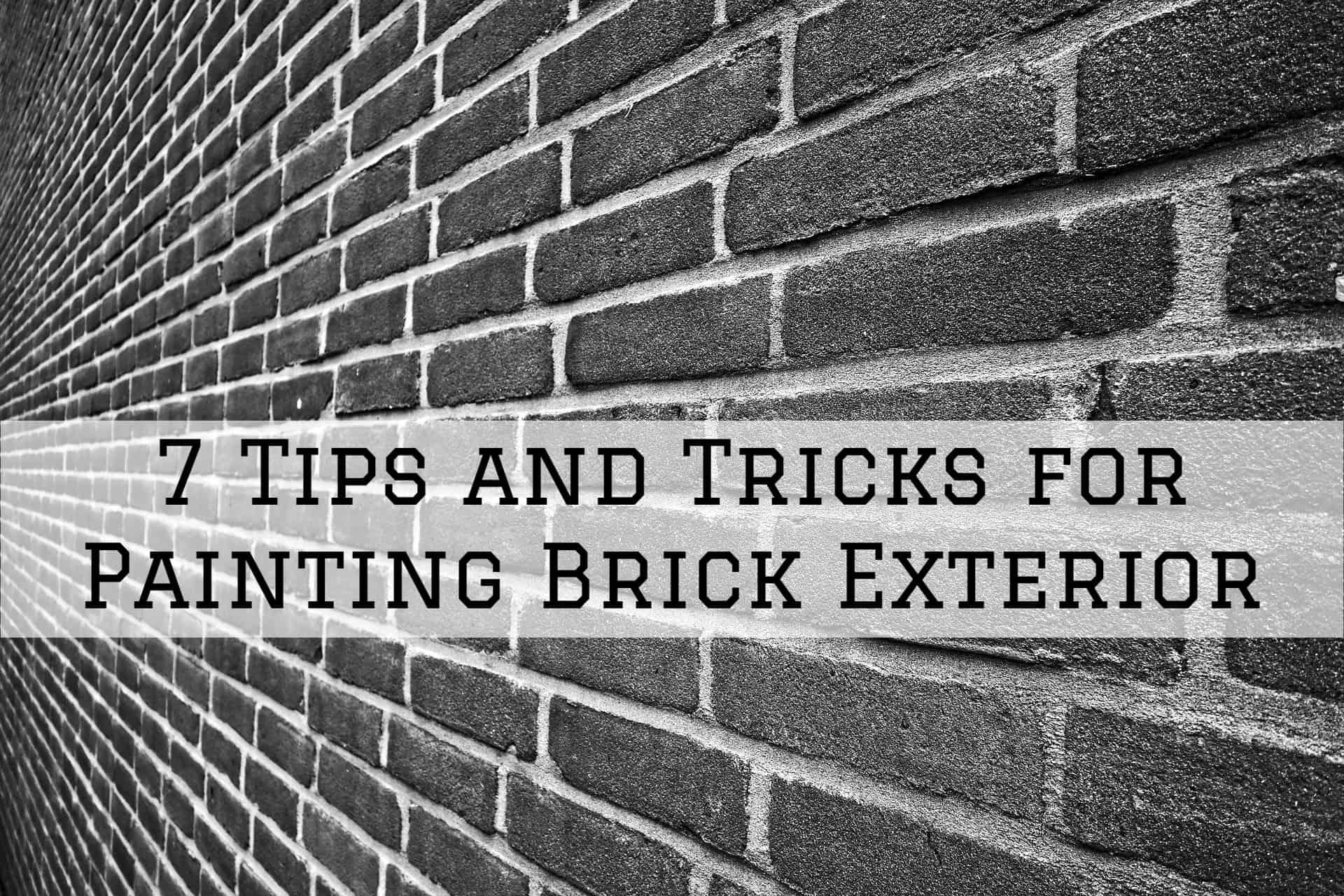 2020-02-10 Brush and Roll Painting Omaha NE Exterior Brick Painting