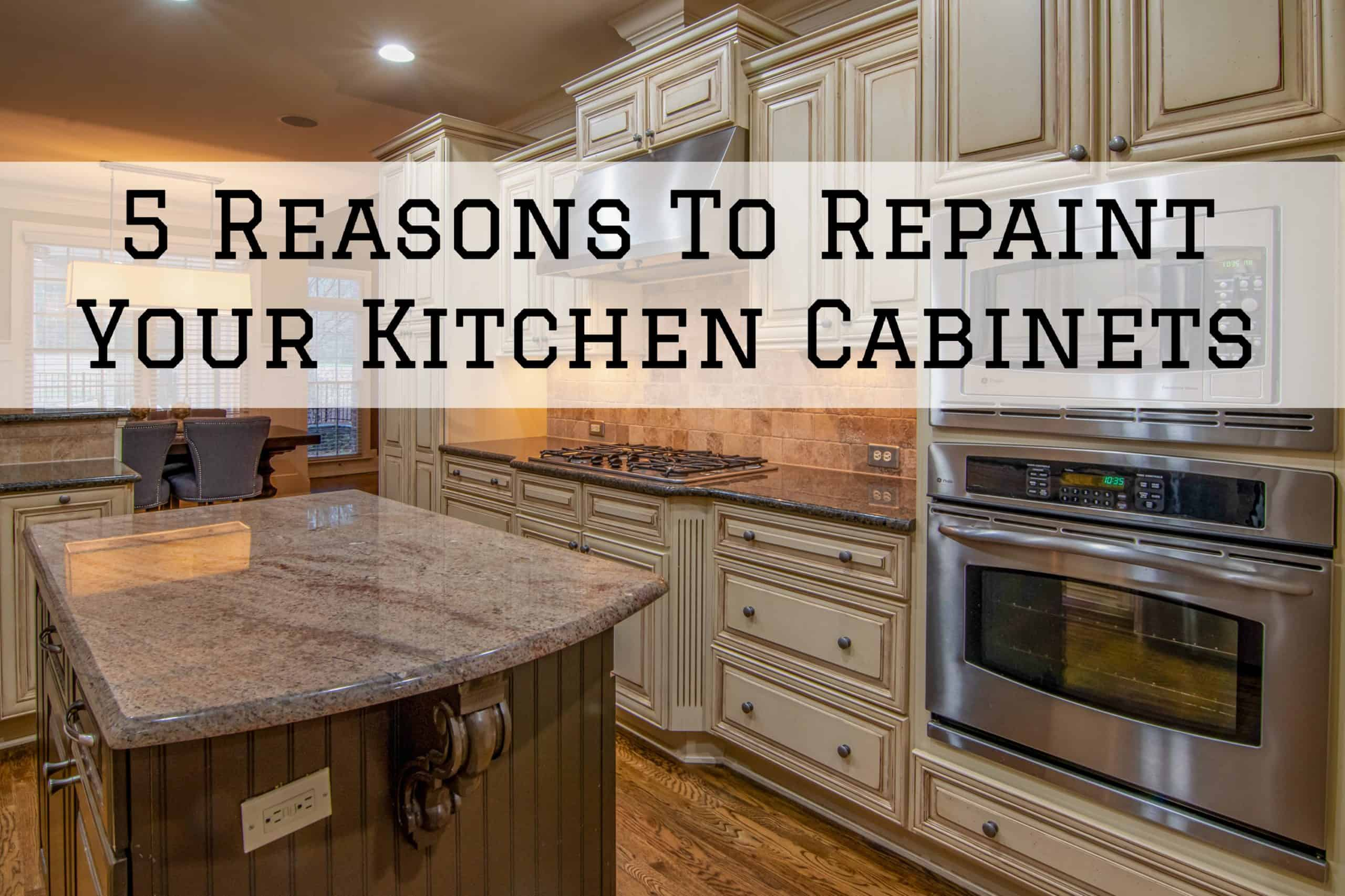 2020-08-24 Brush and Roll Omaha NE Reasons Kitchen Cabinets Repaint